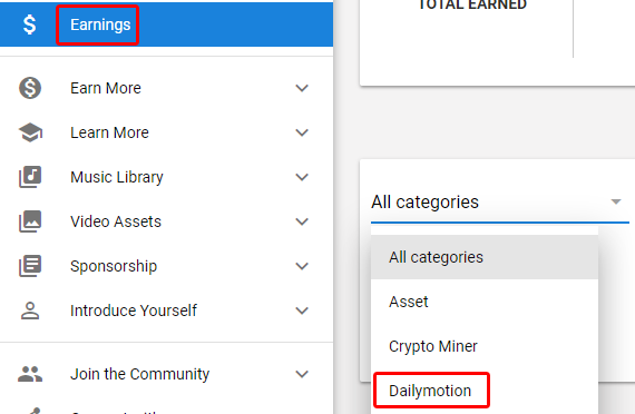 How does the Dailymotion payment work?